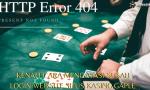 kendala login ke situs kasino online